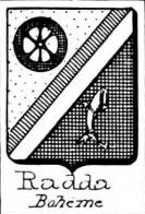 Radda Coat of Arms / Family Crest 0