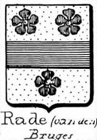 Rade Coat of Arms / Family Crest 1
