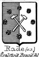 Rade Coat of Arms / Family Crest 0