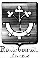 Radebandt Coat of Arms / Family Crest 0