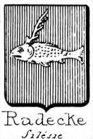 Radecke Coat of Arms / Family Crest 2
