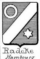 Radeke Coat of Arms / Family Crest 0