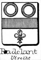 Radelant Coat of Arms / Family Crest 0