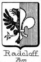 Radeloff Coat of Arms / Family Crest 0