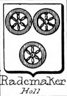 Rademaker Coat of Arms / Family Crest 1