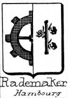 Rademaker Coat of Arms / Family Crest 2