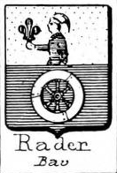 Rader Coat of Arms / Family Crest 0