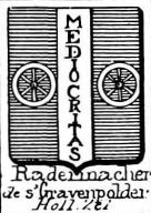 Radermacher Coat of Arms / Family Crest 1