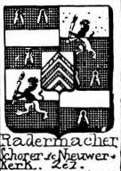 Radermacher Coat of Arms / Family Crest 3