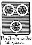 Radermacher Coat of Arms / Family Crest 0