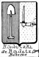 Radetzki Coat of Arms / Family Crest 0