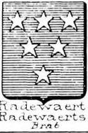 Radewaert Coat of Arms / Family Crest 0