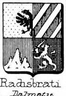 Radisbrati Coat of Arms / Family Crest 0