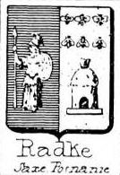 Radke Coat of Arms / Family Crest 0