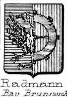 Radmann Coat of Arms / Family Crest 0