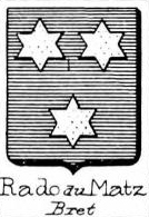 Rado Coat of Arms / Family Crest 1