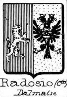 Radosio Coat of Arms / Family Crest 1