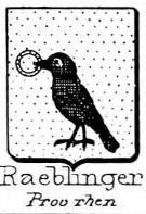 Raeblinger Coat of Arms / Family Crest 0
