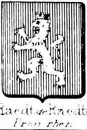 Raedt Coat of Arms / Family Crest 3