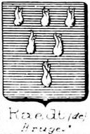 Raedt Coat of Arms / Family Crest 4