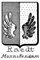 Raedt Coat of Arms / Family Crest 0