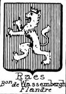 Raes Coat of Arms / Family Crest 3