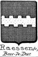 Raessen Coat of Arms / Family Crest 0