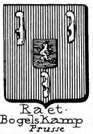 Raet Coat of Arms / Family Crest 6