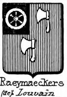 Raeymaeckers Coat of Arms / Family Crest 0