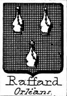 Raffard Coat of Arms / Family Crest 0