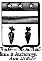 Raffin Coat of Arms / Family Crest 2