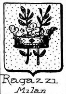 Ragazzi Coat of Arms / Family Crest 3