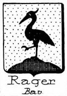 Rager Coat of Arms / Family Crest 3