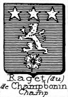 Raget Coat of Arms / Family Crest 0