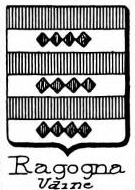 Ragogna Coat of Arms / Family Crest 1