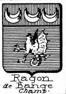 Ragon Coat of Arms / Family Crest 3