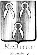 Rahier Coat of Arms / Family Crest 1