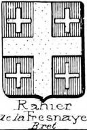 Rahier Coat of Arms / Family Crest 3