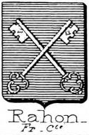Rahon Coat of Arms / Family Crest 0