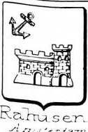 Rahusen Coat of Arms / Family Crest 0
