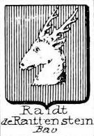 Raidt Coat of Arms / Family Crest 1