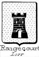 Raigecourt Coat of Arms / Family Crest 0