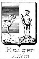 Raiger Coat of Arms / Family Crest 1