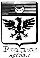 Raignac Coat of Arms / Family Crest 0