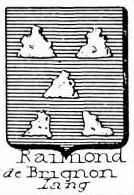 Raimond Coat of Arms / Family Crest 1