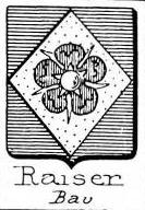 Raiser Coat of Arms / Family Crest 4