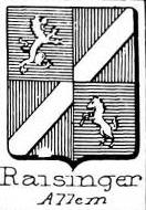 Raisinger Coat of Arms / Family Crest 0