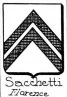 Sacchetti Coat of Arms / Family Crest 3