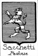 Sacchetti Coat of Arms / Family Crest 4