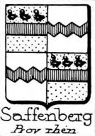 Saffenberg Coat of Arms / Family Crest 1